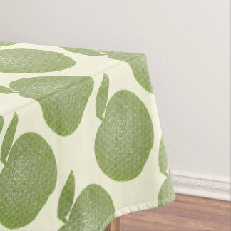 点々のあるな緑のりんご テーブルクロス