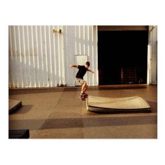 点のスケート選手 ポストカード