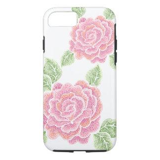 点のバラの堅いiPhone 7の場合 iPhone 7ケース