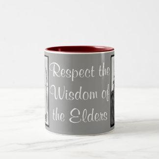 点の知恵のマグ ツートーンマグカップ