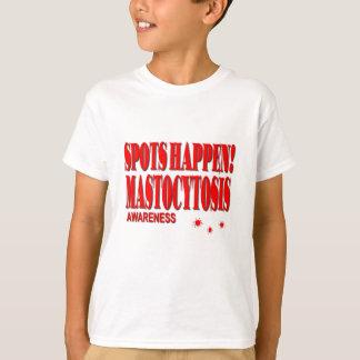 点は認識度- Mastocytosisの起こります Tシャツ
