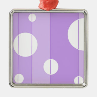 点はFairytalePurpleで縞で飾り、 メタルオーナメント