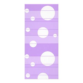 点はFairytalePurpleで縞で飾り、 ラックカード
