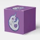 点インクスケッチのデザインのNarwhalの灰色のクジラ フェイバーボックス