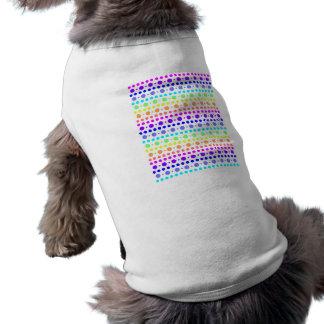 点ペット衣類の虹 ペット服