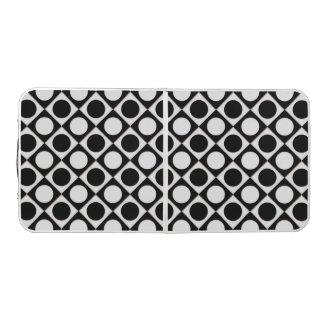 点及び正方形/白黒 + あなたのアイディア ビアポンテーブル