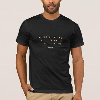 点字のエメリー Tシャツ