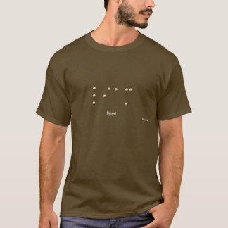 点字のリーアム Tシャツ