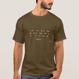 点字のWeston Tシャツ
