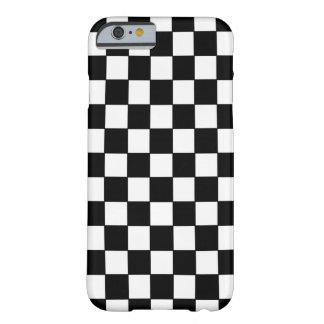点検される白黒- iPhone 6の場合 iPhone 6 ベアリーゼアケース