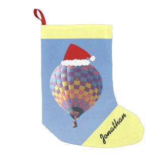 点検それ熱気の気球のクリスマスのストッキング スモールクリスマスストッキング