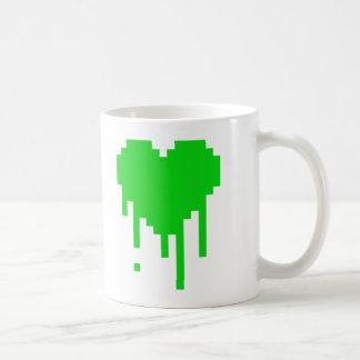 点滴注入のハート コーヒーマグカップ