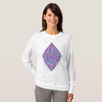 点滴注入の綿菓子の水晶 Tシャツ