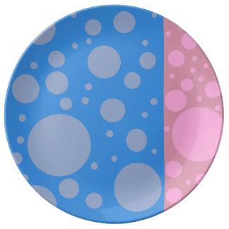 点27.3 cmの装飾的な磁器皿 磁器プレート