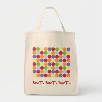 点、点、点… 食料雑貨のトート トートバッグ