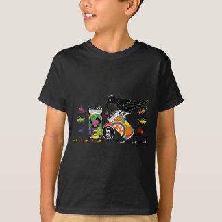 烏と蟻の缶ジュース(Canned juice of a crow and ants) Tシャツ