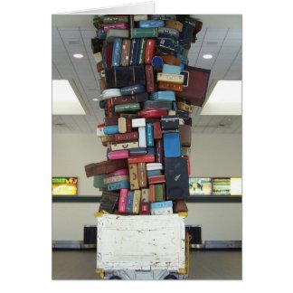 無くなったスーツケースか。 カード