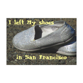無くなったパーティの靴 キャンバスプリント