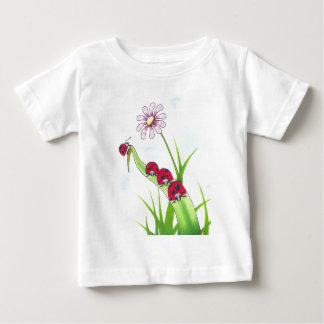 無くなった子守唄のてんとう虫の子供 ベビーTシャツ