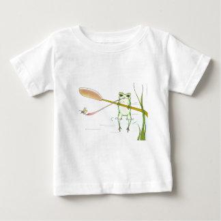 無くなった子守唄のカエルの虫 ベビーTシャツ
