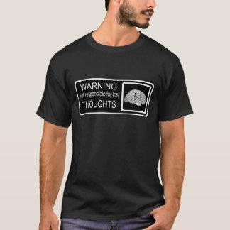 無くなった思考 Tシャツ