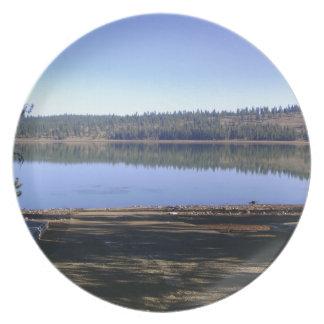 無くなった湖、アイダホ プレート