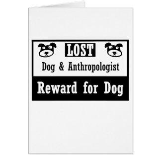 無くなった犬の人類学者 ノートカード