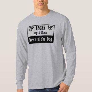 無くなった犬の石大工 Tシャツ