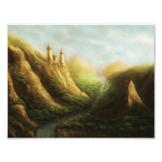 無くなった王国のファンタジーの写真のプリント フォトプリント