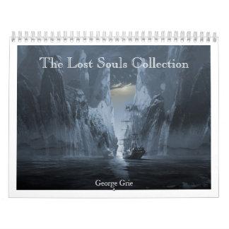 無くなった精神のコレクション2013-14年 カレンダー
