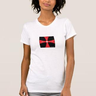 無くなった精神(スピリチュアル)の女性のTシャツ Tシャツ
