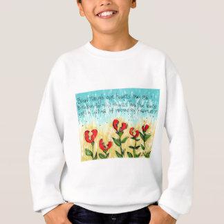 無くなった1のための美しい表現 スウェットシャツ