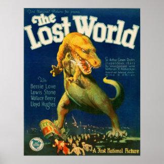 無くなったWorld (1925年の無声映画) ポスター