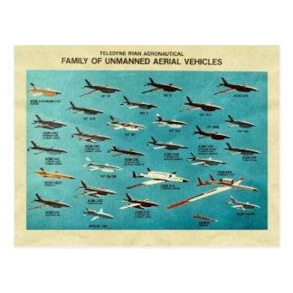 無人の空気車の系列 ポストカード