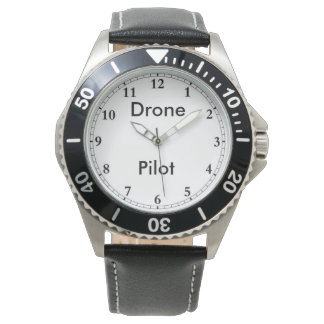 無人機のパイロットの腕時計 腕時計
