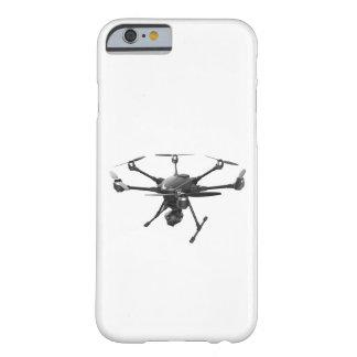 無人機の灰色 BARELY THERE iPhone 6 ケース