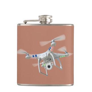 無人機の白 フラスク