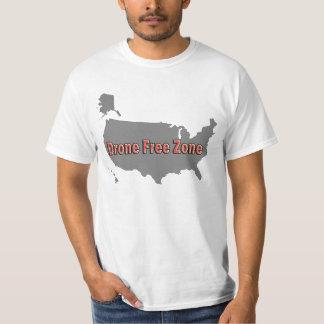 無人機の自由地帯 Tシャツ