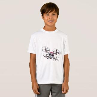無人機のquadrocopter tシャツ