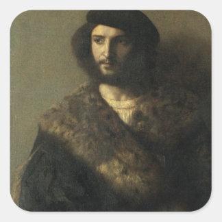 無効の、c.1514 (キャンバスの油) スクエアシール
