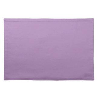 無地のなアフリカバイオレットの紫色のテーブルマット ランチョンマット