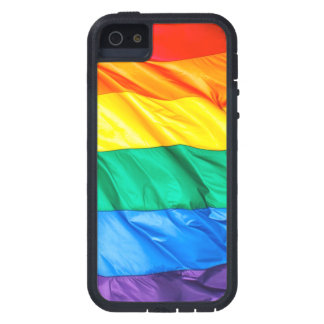 無地のなプライド-ゲイプライドの旗のクローズアップ iPhone SE/5/5s ケース
