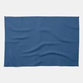 無地のなモナコの青い台所タオル キッチンタオル