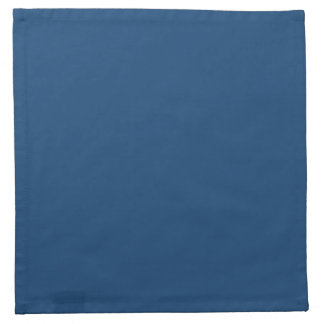 無地のなモナコの青い布のナプキン ナプキンクロス