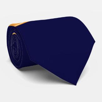 無地のな濃紺、メロンのリボンの名前のモノグラム オリジナルタイ