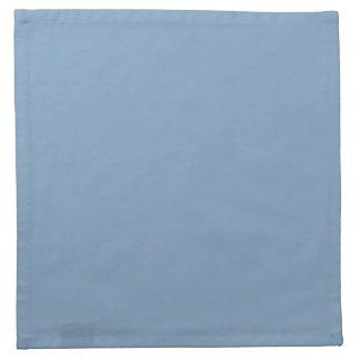 無地のな薄暗がりの青い布のナプキン ナプキンクロス