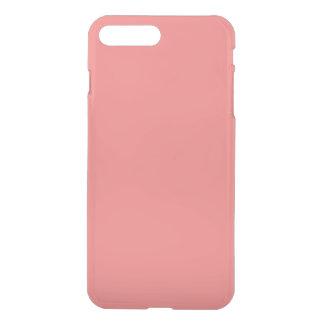 無地: 軽い珊瑚 iPhone 8 PLUS/7 PLUS ケース