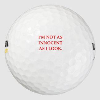 無実 ゴルフボール