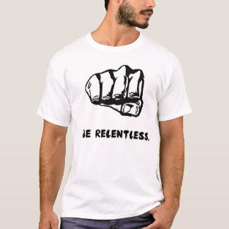 無情な握りこぶしのTシャツ Tシャツ
