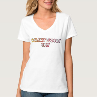無情に陽気なワイシャツ Tシャツ
